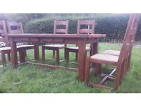 Wesley Barrell Dining Table and Chairs