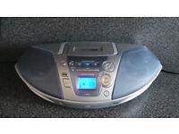 Panasonic cd radio tape player