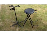 Guitar Seat/Stand & Tripple Guitar Stand