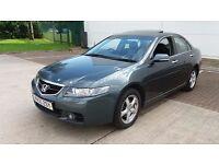 2005 (55reg) Honda Accord 2.2 I DTEC EX Low Mileage 87K !!! 1 Owner from New. FSH Metallic paint