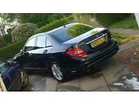 Mercedes C220 CDI Sport 2.1 diesel 09 plate £6800 ono