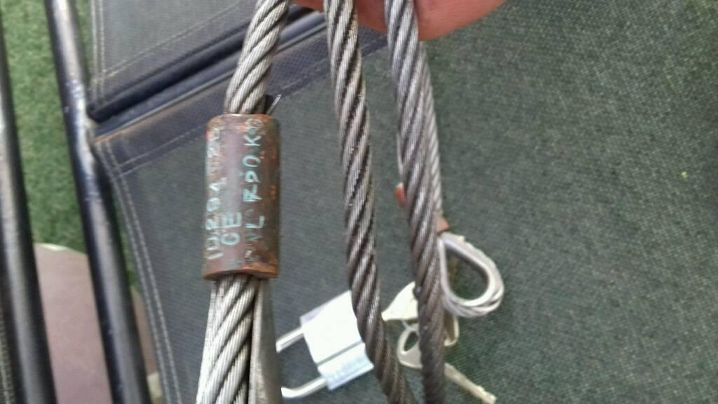 Stillness steel security wire