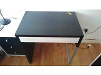 Urgent house clearance - black and white desk