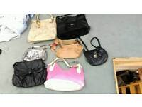 Women's job lot handbags