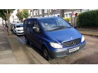 For sale Mercedes Vito 109cdi 2005 ,blue 2.2 diesel manual, only 130470miles,1 YEAR MOT, Good runner