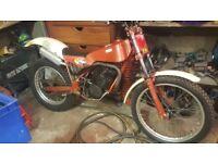 Fantic 301 trials bike