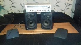 Vintage Amplifier/Speakers