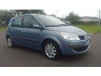 RENAULT SCENIC 1.6 AUTOMATIC IN TOP CONDITION. LONG MOT. TAXED AND INSURED. FULL SERVICE HISTORY