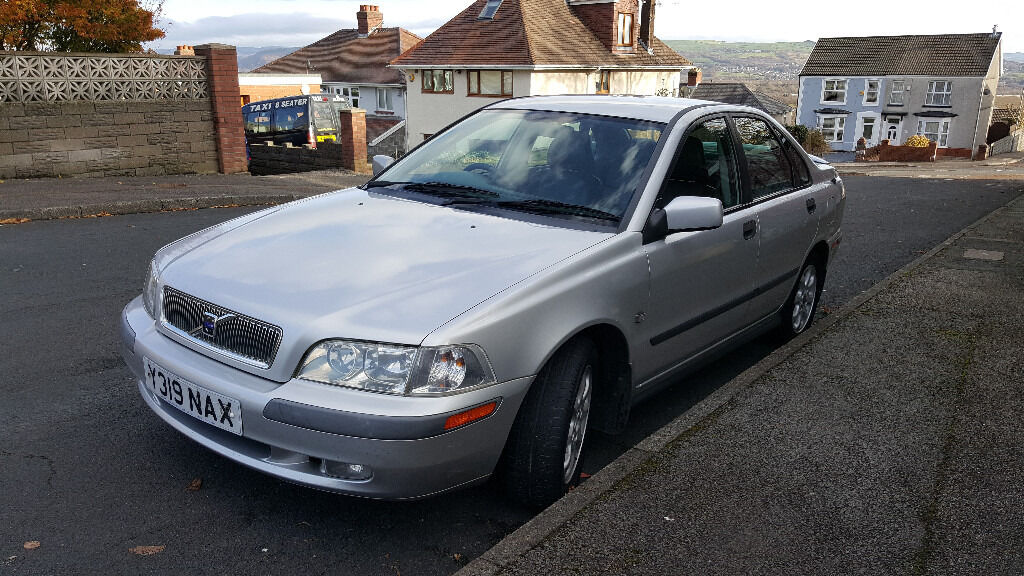 VOLVO S40I FULL SERVICE HISTORY, LEATHER SEATS, cruisecontrol