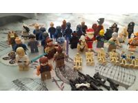 Lego Super Heroes and Star Wars bits