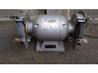 "Hilka bench grinder - 6"" - 1/2 hp - 370 Watts - 3000 rpm"