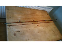 Vintage Hardy Wanless Spinning Rod