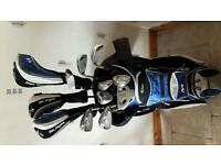 Ben Sayers M9 Golf clubs and bag. Full set. Good condition.