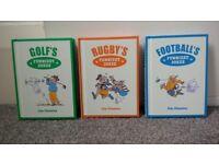 3 Brand new Sporting joke books