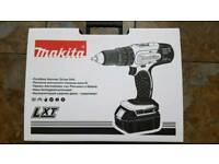BRAND NEW Makita Cordless Drill Hammer + 3ah Battery + Charger + Case