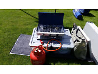Campingaz Elite Camping Chef Double Burner and Grill inc gas bottle