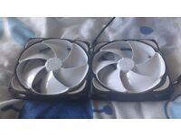 Noiseblocker NB-eLoop 120mm 12-2 fans x 2