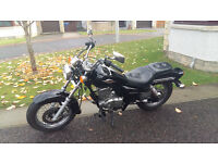2010 Suzuki GZ125 Marauder. Great learner bike in V. Good condition with low miles.