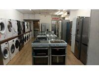 New Washing Machine, American, Fridge Freezer, Gas Electric Cooker, Dishwasher, Dryer, Oven, Range