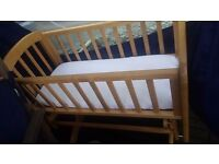 Glider cot bet mothercare