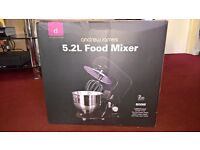Andrew James 5.2 litre food mixer (brand new)