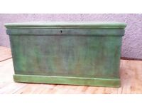 Pine antique chest/trunk