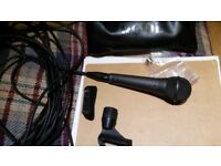 Rode M1 microphone inc stand and lead