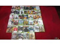 Xbox 360 and lots of games