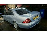 Mercedes s class 320cd drive excellent engine and gearbox are absolutely perfect