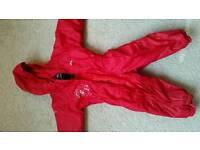 Trespass overall rain suit