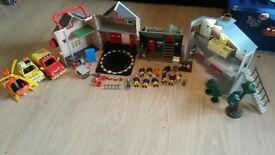 huge bundle of fireman sam toys playsets