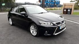 2015 Lexus Ct 200h Advance 1.8 Hybrid