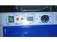 INDUSTRIAL dehumidifier (ARCODRI 190) 400cmrts plus area 40ltrs MAX /24hours builtin humidistat