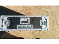 Large 5U rack flight case rack case. very deep, suitable for server or high end gear flightcase