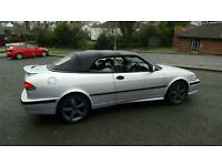 2000 saab 93se convertible.......only 66.000 miles.. .FSH