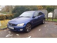 LEXUS IS 200 IS200 SPORT BLUE MANUAL 86K