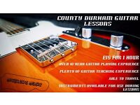 County Durham Guitar Lessons