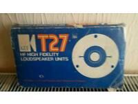 KEFF T27 speakers