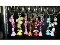 Angel keyrings/bag charms
