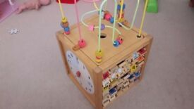 Wooden educational toy.