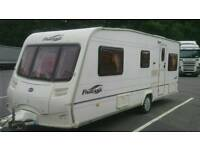 2005 bailey vendee 4 berth fixed bed model comes with a awnings full paperwork and keys