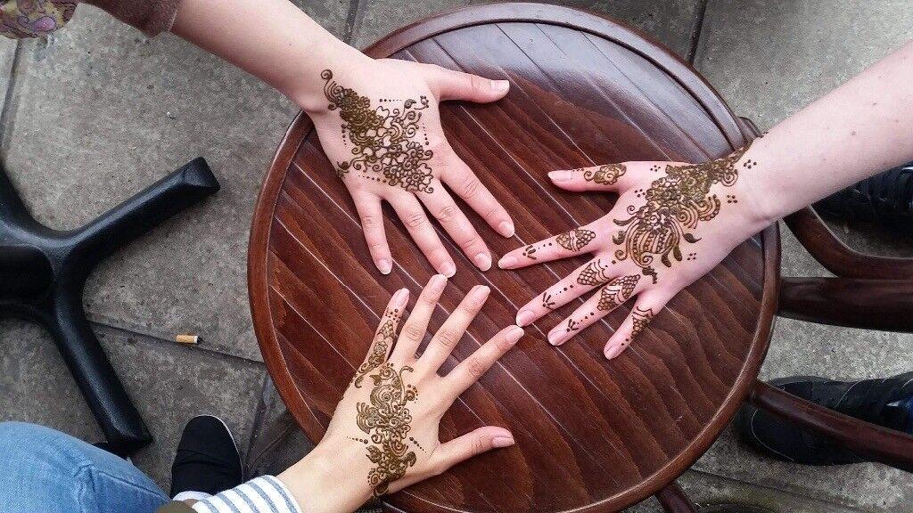 Henna Mehndi Edinburgh : Mobile henna artist in and around edinburgh meadows