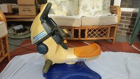 TOMY Jet Bike Ride on Simulator toy suit approx. 3-6 years £10