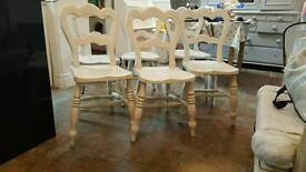 Pine Kitchen Chairs (6)