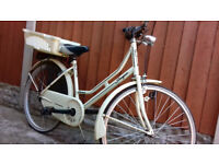 DUTCH STYLE BIKE +CARRIER,BELL,STAND £50