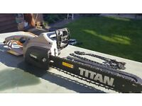 TITAN 40.5CM 2000W ELECTRIC CHAINSAW 230V