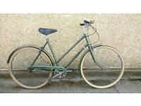 Ladies town bike Hurcules commuter