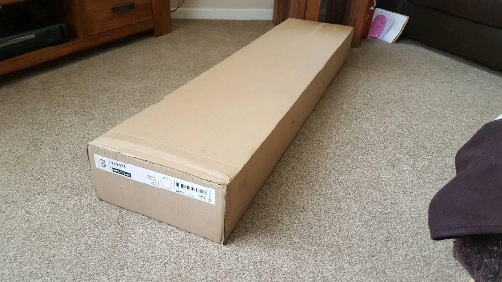ikea flysta shelving unit white in st andrews fife. Black Bedroom Furniture Sets. Home Design Ideas