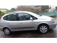 Cheverolet Tacuma car 2008 with 69,000 miles and 11 months MOT