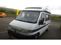 peugeot boxer motor home, symphony autosleeeper 320 m.w.b., 1998 reg, 2446 cc diesel, 94,000 miles